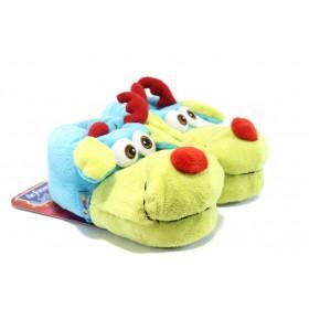 Детски обувки - висококачествен текстилен материал - сини - EO-4296