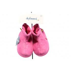Детски обувки - висококачествен текстилен материал - розови - EO-5283