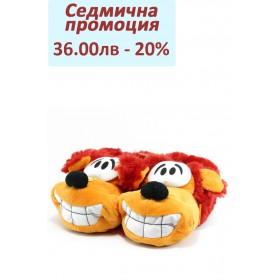 Детски обувки - висококачествен текстилен материал - червени - EO-1977
