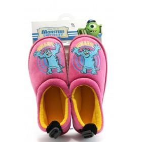 Детски обувки - висококачествен текстилен материал - розови - EO-1983
