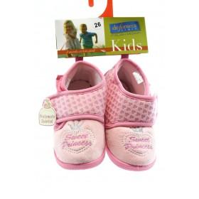 Детски обувки - висококачествен текстилен материал - розови - EO-1915