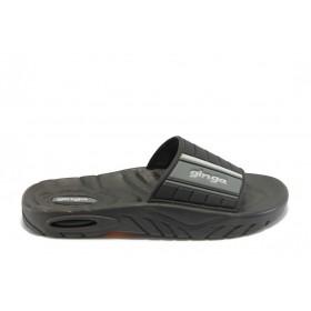 Детски сандали - висококачествен pvc материал - черни - EO-4540