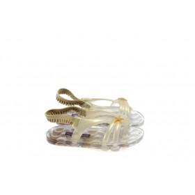 Детски сандали - висококачествен pvc материал - жълти - EO-4542