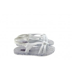 Детски сандали - висококачествен pvc материал - бели - EO-4535