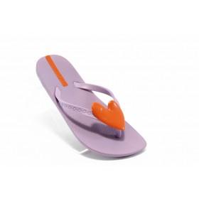Детски чехли - висококачествен pvc материал - лилави - EO-4517