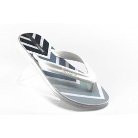 Мъжки чехли - висококачествен pvc материал - бели - EO-4520