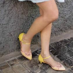 Жълти обувки