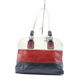 Дамска чанта - висококачествена еко-кожа -  - EO-5057