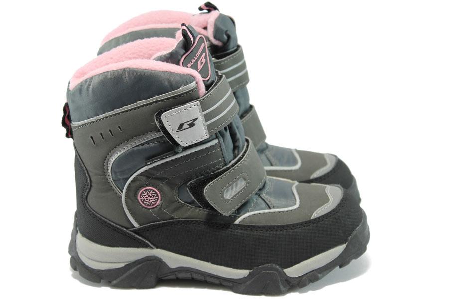 Детски ботуши - висококачествена еко-кожа - розови - EO-5184