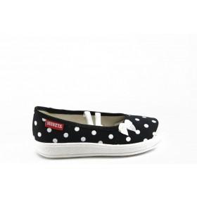 Детски обувки - висококачествен текстилен материал - сини - EO-3375