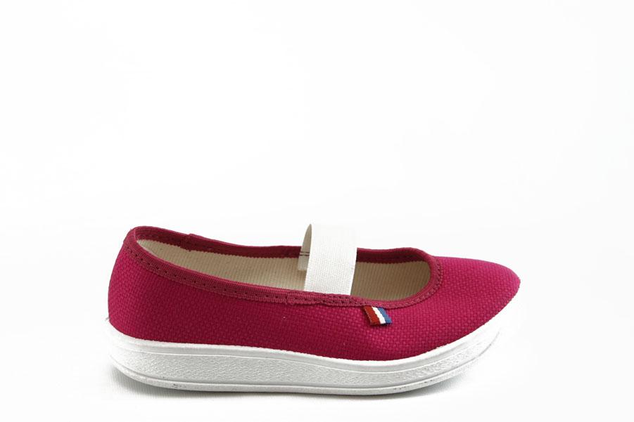 Детски обувки - висококачествен текстилен материал - розови - EO-3381