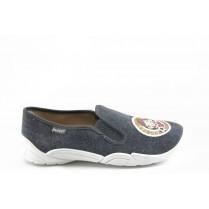 Детски обувки - висококачествен текстилен материал - сиви - EO-3382
