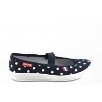 Детски обувки - висококачествен текстилен материал - сини - EO-3390