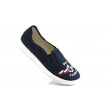 Детски обувки - висококачествен текстилен материал - сини - EO-3385
