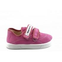 Детски обувки - висококачествен текстилен материал - розови - EO-3392
