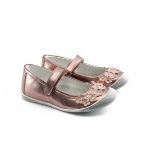 Детски обувки - висококачествена еко-кожа - розови - EO-3304