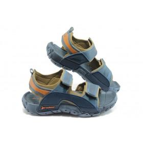 Детски сандали - висококачествен pvc материал - сини - EO-3908