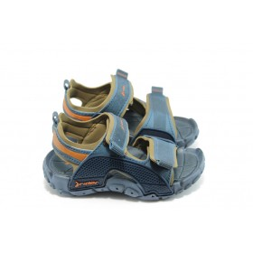 Детски сандали - висококачествен pvc материал - сини - EO-3909