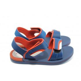 Детски сандали - висококачествен pvc материал - сини - EO-3915