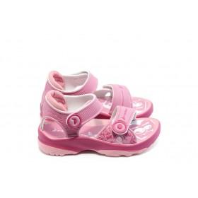 Детски сандали - висококачествен pvc материал - розови - EO-3919