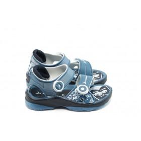 Детски сандали - висококачествен pvc материал - сини - EO-3920
