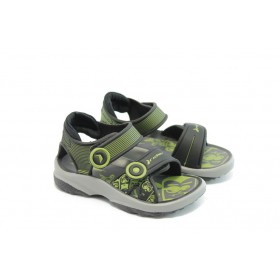 Детски сандали - висококачествен pvc материал - черни - EO-3921