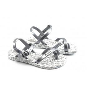 Детски сандали - висококачествен pvc материал - сиви - EO-3912