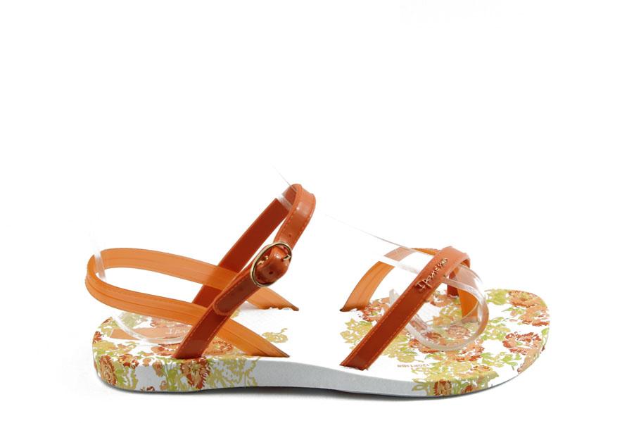 Детски сандали - висококачествен pvc материал - оранжеви - EO-3929