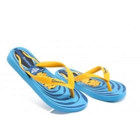 Детски чехли - висококачествен pvc материал - сини - EO-3930