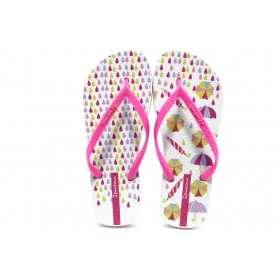 Дамски чехли - висококачествен pvc материал - розови - EO-3964