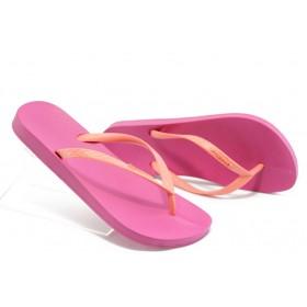 Дамски чехли - висококачествен pvc материал - розови - EO-3953