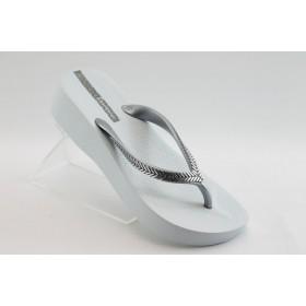 Дамски чехли - висококачествен pvc материал - бели - EO-3975