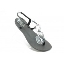 Дамски сандали - висококачествен pvc материал - черни - EO-3993