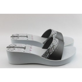 Дамски чехли - висококачествен pvc материал - бели - EO-3979