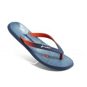 Мъжки чехли - висококачествен pvc материал - сини - EO-4021