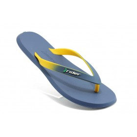 Мъжки чехли - висококачествен pvc материал - сини - EO-4028