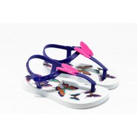Детски сандали - висококачествен pvc материал - лилави - EO-1434