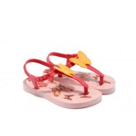 Детски сандали - висококачествен pvc материал - розови - EO-4431
