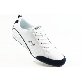 Спортни мъжки обувки - еко-кожа - бели - EO-3299