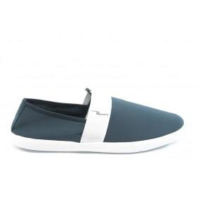 Спортни мъжки обувки - висококачествен текстилен материал - сини - EO-3609