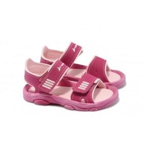 Детски сандали - висококачествен pvc материал - розови - EO-4456
