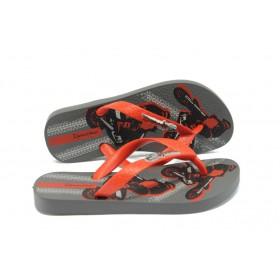 Детски чехли - висококачествен pvc материал - червени - EO-6419