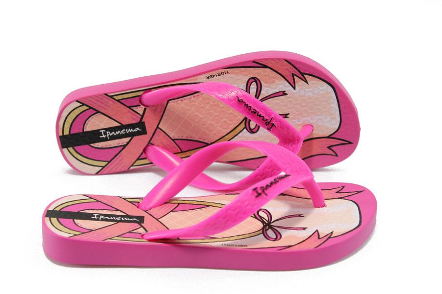 Детски чехли - висококачествен pvc материал - розови - EO-6420