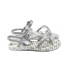 Детски сандали - висококачествен pvc материал - сиви - EO-6438