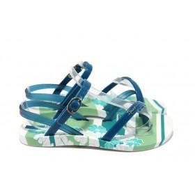 Детски сандали - висококачествен pvc материал - сини - EO-6431