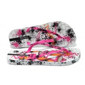 Дамски чехли - висококачествен pvc материал - розови - EO-6467