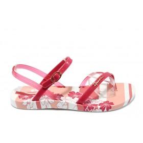 Дамски сандали - висококачествен pvc материал - розови - EO-6472