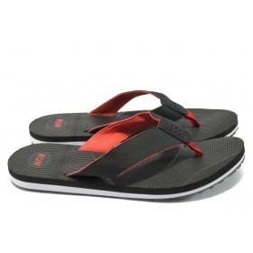 Джапанки - висококачествен текстилен материал - черни - РС 151-99056 черен