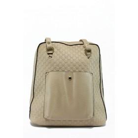 Дамска чанта - висококачествена еко-кожа - бежови - EO-8465