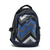 Раница - висококачествен текстилен материал - сини - EO-9208